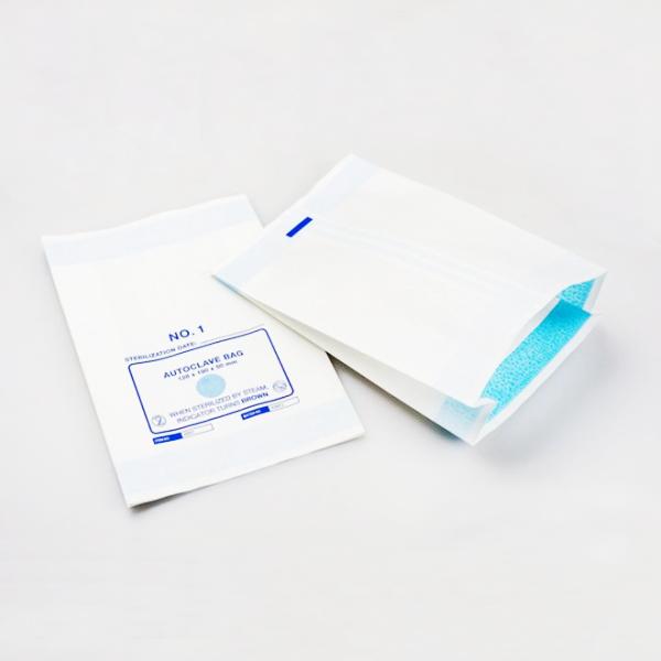 Bolsa de papel de esterilización con fuelle