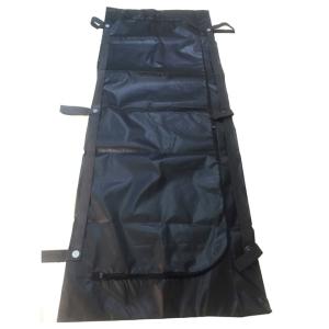 Bolsa de cadáveres negra